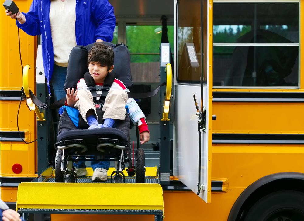 Спеціальний автобус для людей з інвалідністю