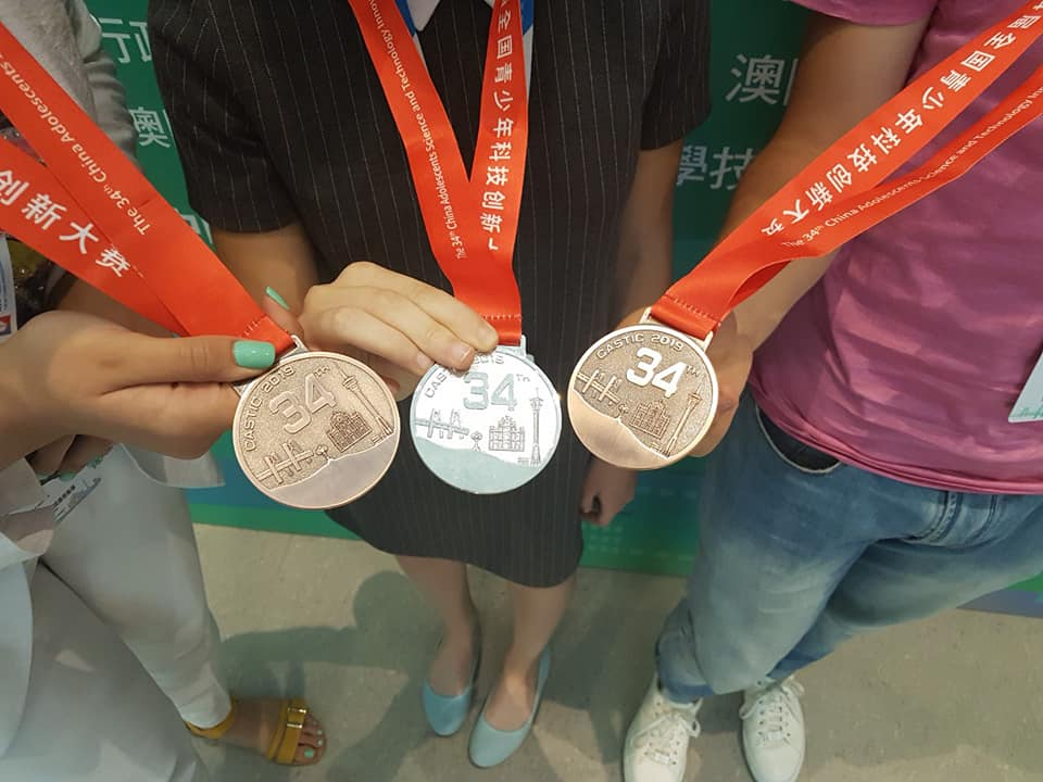 Українські школярі здобули три медалі на міжнародному науковому конкурсі в Китаї