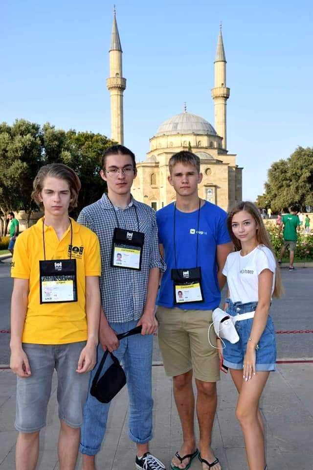 Українці здобули чотири медалі на олімпіаді з інформатики в Азербайджані