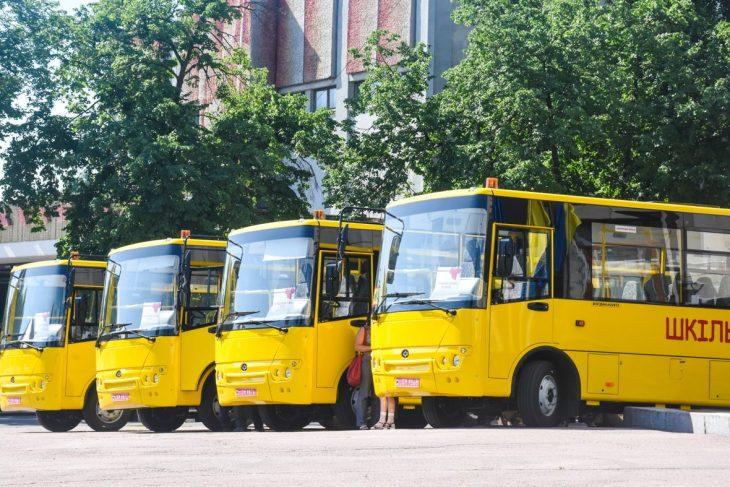 На Житомирщині закупили 20 шкільних автобусів