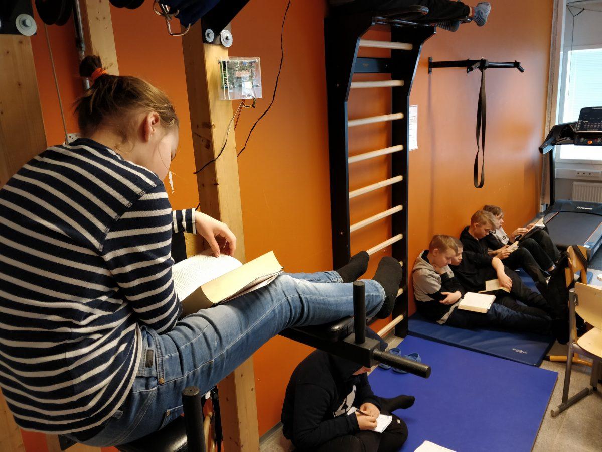 Живий клас. Як фінські учні навчаються в русі